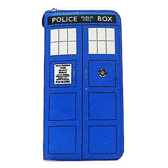 Doctor Who TARDIS Ladies Clutch Wallet