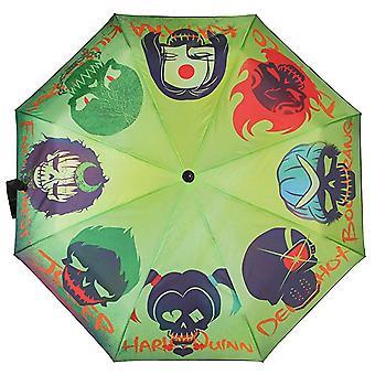 Umbrella-esquadrão suicida-Skulls licenciado novo um4czzssq