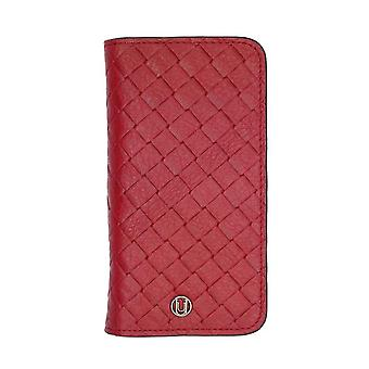 iPhone 6/6s - 4.7 Inch Luxe Exotic Folio Wallet Weave Red
