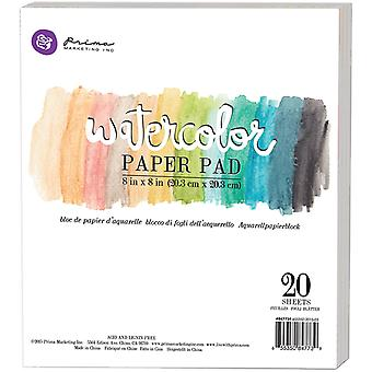 Watercolor 140lb Cold Press Paper Pad 8