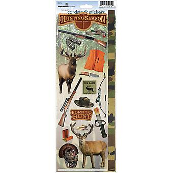 Paper House Cardstock Stickers Hunting Season Stcx 121E