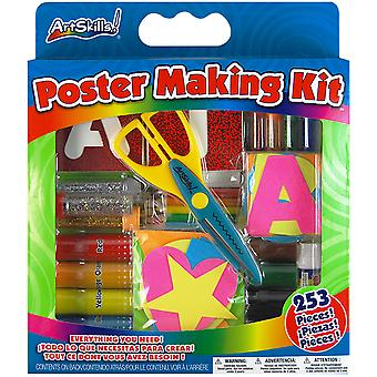 Poster Making Kit 253 Pieces Pa1276