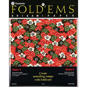 Fold 'Ems Origami Paper 5.875