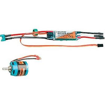 Model aircraft brushless motor Multiplex 332660 Compatible with: Multiplex Sol