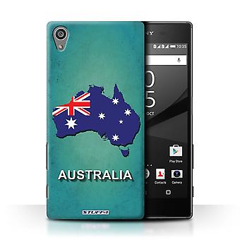 STUFF4 Case/Cover for Sony Xperia Z5/5.2/Australia/Australian/Flag Nations