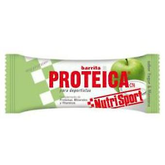 Nutrisport Protein Riegel Joghurt + Apple-Fall 24Unid.