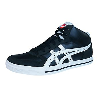 Onitsuka Tiger Aaron MT GS Kids Hi Top Trainers - Black