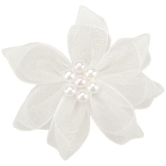 Ribbon Violets 2/Pkg-White Sheer 13259-29