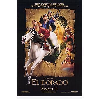 Дорога в Эль-Дорадо фильм плакат печать (27 x 40)