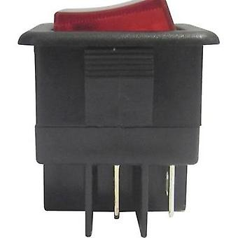 Toggle switch 250 Vac 10 A 1 x Off/On SCI R13-105B