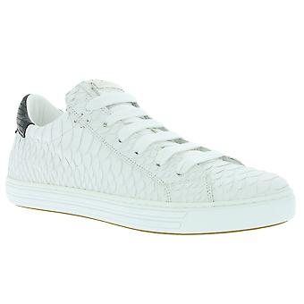 DSQUARED2 Tennis Club shoes real leather sneaker white W16K204 446 M072
