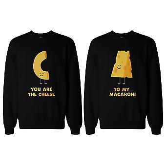 Du bist der Käse zu meinen Makkaroni BFF passende SweatShirts für beste Freundin