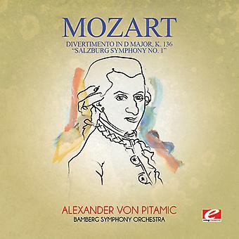 Mozart - Divertimento in D großen K. 136 Salzburger Sinfonie 1 USA import