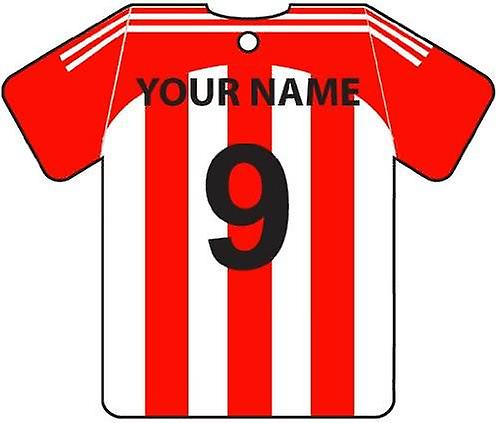 Personalised Stoke City Football Shirt Car Air Freshener