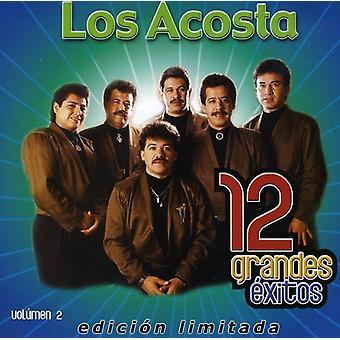 Los Acosta - Los Acosta: Vol. 2-12 Grandes Exitos [CD] USA importar