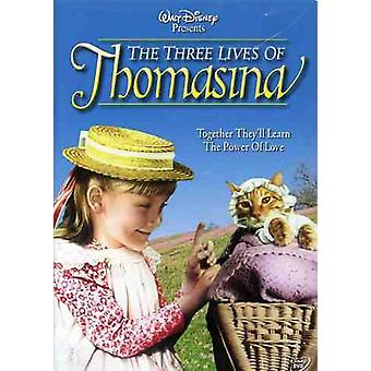 Drie woont Thomasina [DVD] USA importeren
