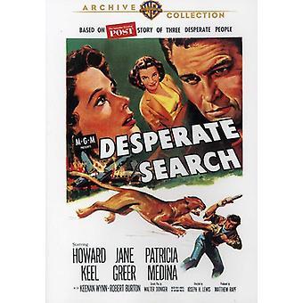 Wanhopig zoeken (1958) [DVD] USA importeren