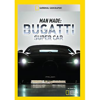 Man Made: Bugatti Super Car [DVD] USA import