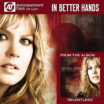 Natalie Grant - i bedre hænder (akkompagnement Track) [CD] USA importerer