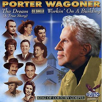 Porter Wagoner - cd'er: Dream-en sandt historie/Wor [CD] USA import