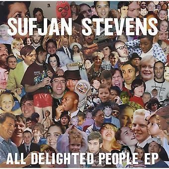Sufjan Stevens - alle glade mennesker [CD] USA import