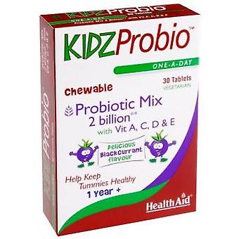 Health Aid Kidzprobio 2000Millones And Vitamins 30comp. Health