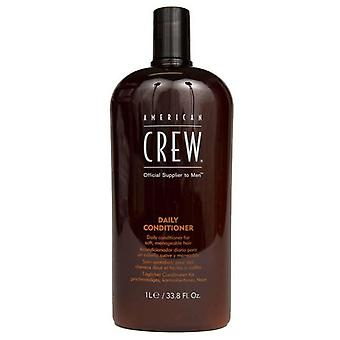 American Crew Daily Conditioner 1000 Ml (Woman , Hair Care , Conditioners and masks)