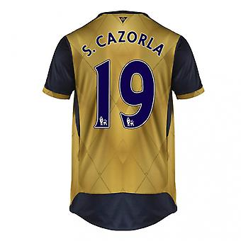2015-16 Arsenal Away Shirt (S. Cazorla 19) - Kids