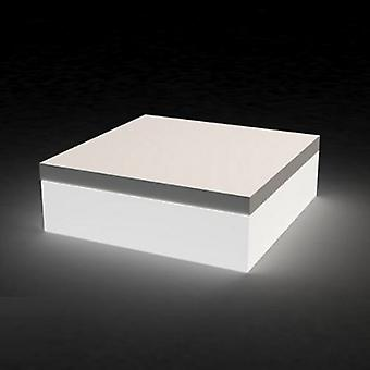 Vondom Svondom poof 80x80x40 cm Ice battery 44415Y