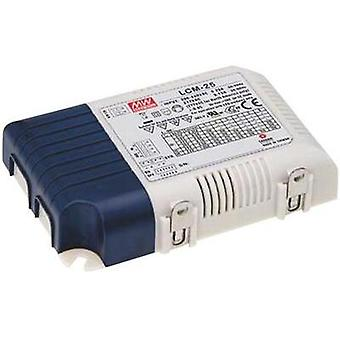 LED driver Constant current Mean Well LCM-25 25 W (max) 0.35