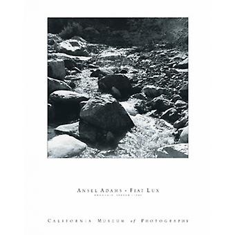 Mountain Stream Poster Print by Ansel Adams (24 x 32)
