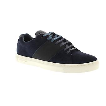 Ted Baker Dannez - Dark Blue Suede (Navy) Mens Trainers