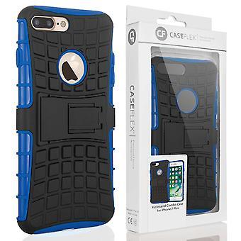 Caseflex Iphone 7 Plus støtteben Combo sag - blå