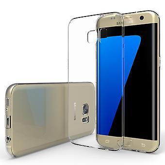 Yousave tilbehør Samsung Galaxy S7 Edge Ultra tynn Gel Case - klar