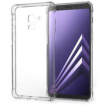 Samsung Galaxy A8 Plus (2018) Alfa TPU Gel Case - duidelijk