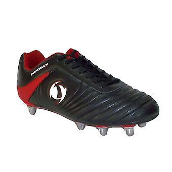 Samurai Katana Rugby støvler [sort/rød]