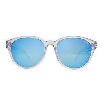 Levis Peaked Round Sunglasses In Clear