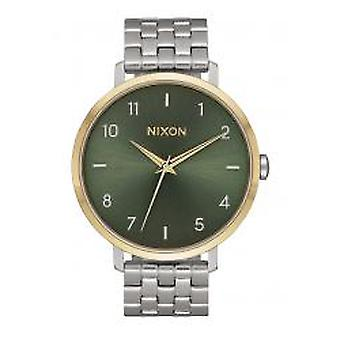 Nixon The Arrow Silver / Gold / Agave (A1090-2877)