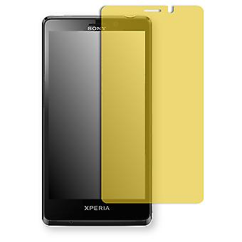 Sony Xperia LT30 display protector - Golebo view protective film protective film