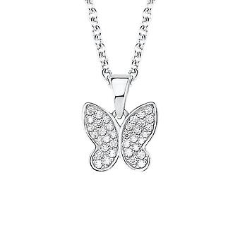 s.Oliver jewel children and teens necklace-silver Butterfly 2020866