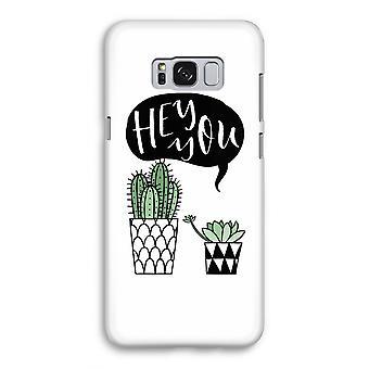 Samsung Galaxy S8 Full Print mål - Hej du cactus