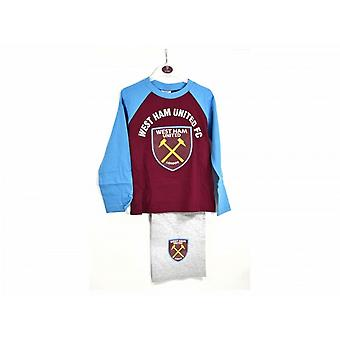 West Ham United FC Childrens Boys Pyjamas