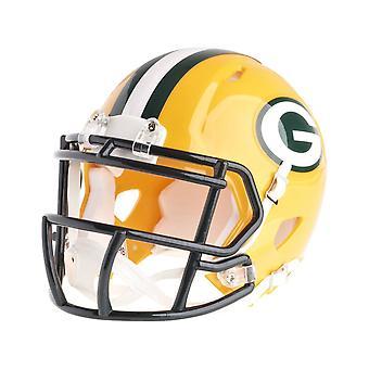 Riddell mini voetbal helm - NFL snelheid Green Bay Packers