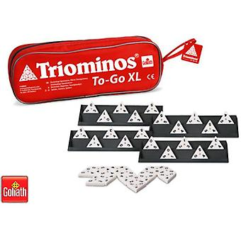 Goliath Triominos To-Go Xl (Babies and Children , Toys , Boardgames , Skills)
