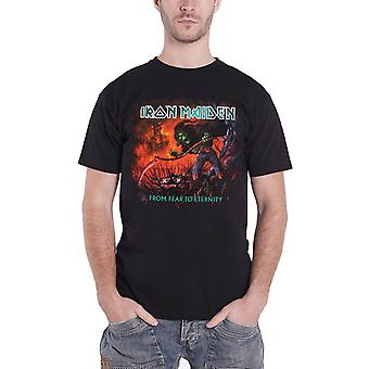 Iron Maiden T Shirt From Fear To Eternity Album mens black new official