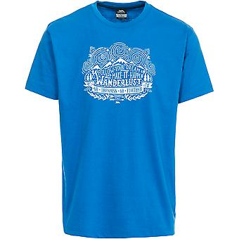 Trespass Hainey męska Krótki rękaw drukowane koszulki sportowe