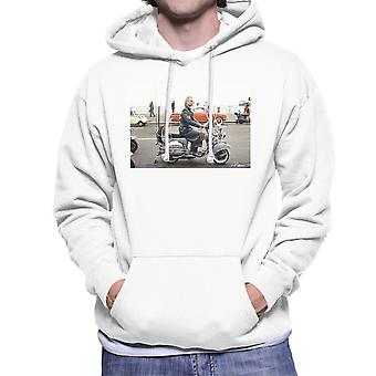 Sting On A Moped In Quadrophenia Men's Hooded Sweatshirt