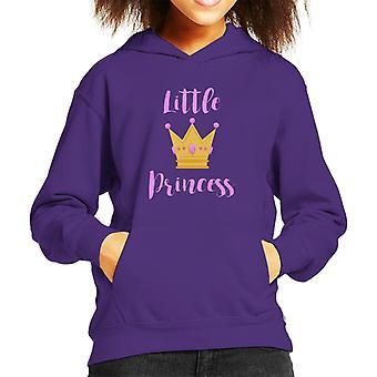 Little Princess Tiara Kid's Hooded Sweatshirt