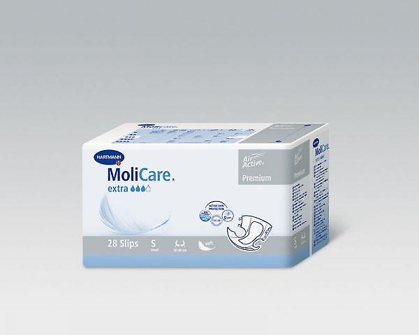 Molicare Softextra Xs | Unisex All-in-1 Incontinence Pads | Pack Of 28