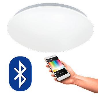 Eglo Remote Controllable 17W LED Ceiling Light With Colour Changing & Dimming Ability